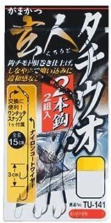 がまかつ(Gamakatsu) 玄人 タチウオ3本仕掛 ワイヤーTU142 4-48 LL.