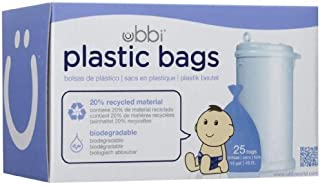 Ubbi Plastic Bags - 25 ct