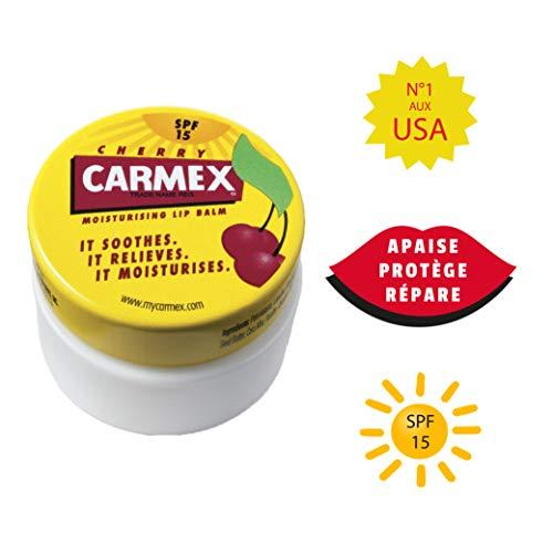 Carmex - Bote de 7,5 g, color cereza