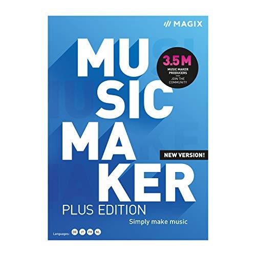 Music Maker 2021 Plus – Zum eigenen Song mit nur 5 Klicks | PC | PC Aktivierungscode per Email