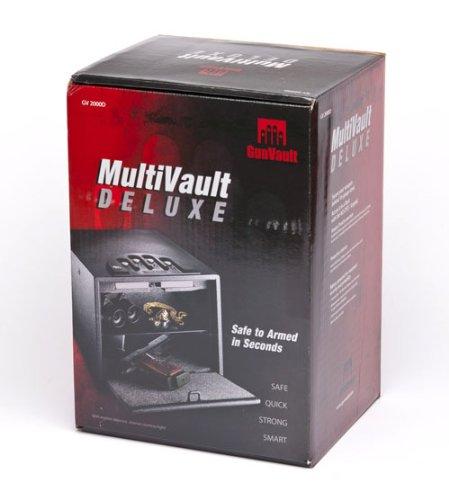 Why Choose GunVault Deluxe Multi Vault Safe, 14″ x 10″ x 8″, Black