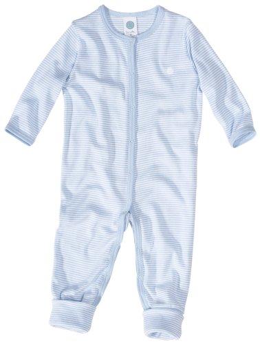 Sanetta 220454 Baby - Jungen Babykleidung/ Overalls, Gr. 56, Blau