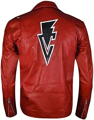 Leather Arena Finn Balor At the price of surprise Wrestler Free shipping Motor Jacket Red Club Cy