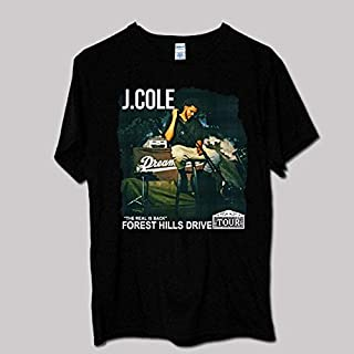 J Cole Forest Hills Drive Tour T Shirt, Shirt Cotton T-Shirt For Men For Women