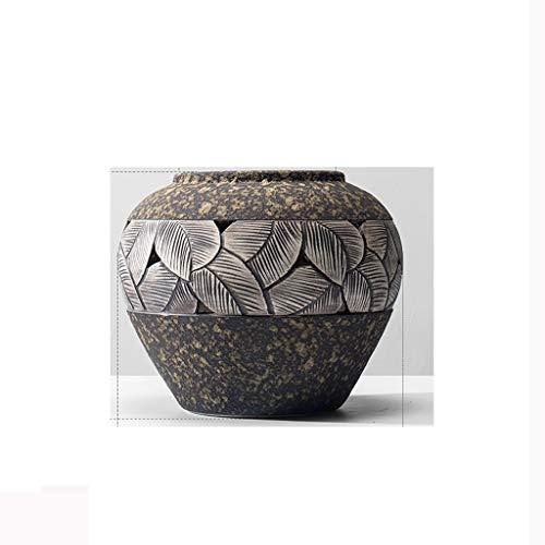 New Chinese Stoneware Vase JSFQ (Size : High 17CM)