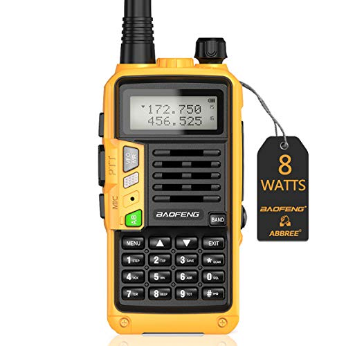BaoFeng UV-S9 Plus(Upgrade of UV-5R) 8-Watt 2200mAh Larger Battery with USB Charger Cable Rechargeable long rang VHF UHF Dual Band Amateur Ham Two Way Radio(Orange). Buy it now for 29.99