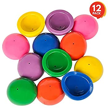 ArtCreativity 2 Inch Rubber Pop Up Popper Toys - Pack of 12 - Assorted Colors - Ideal Impulse Item - Dropper Popper Toy - Great Small Game Prizes Party Favor and Gift Idea for Boys and Girls Ages 3+