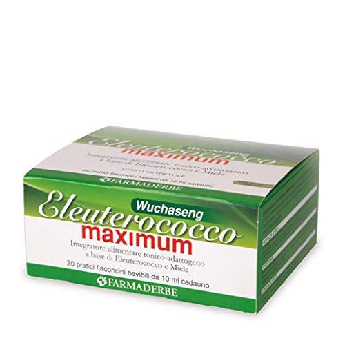 integratore alimentare eleuterococco maximum tonico-rivitalizzante 20 flaconcini