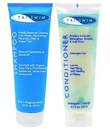 TRISWIM Chlorine Out Shampoo & Conditioner Gift Set