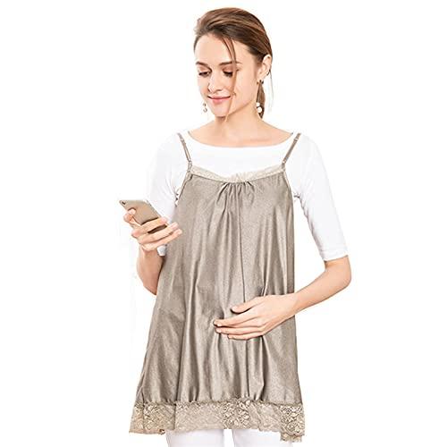 MOZHANG Abito anti-radiazione maternità, donne incinte Protective Grembiule in pizzo, apparecchiature elettroniche Scudo Computer Mobile Phone Phone Protezione di radiazioni Vestiti per tutta la gravi