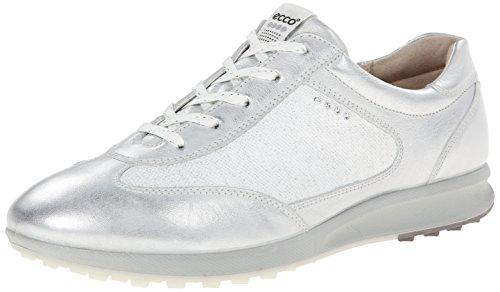 ECCO Street EVO One Zapatillas de golf deportivas para mujer, color Blanco, talla 41 EU/10-10.5 M US