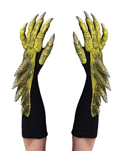 Zagone Studios Green Dragon Halloween Costume Gloves