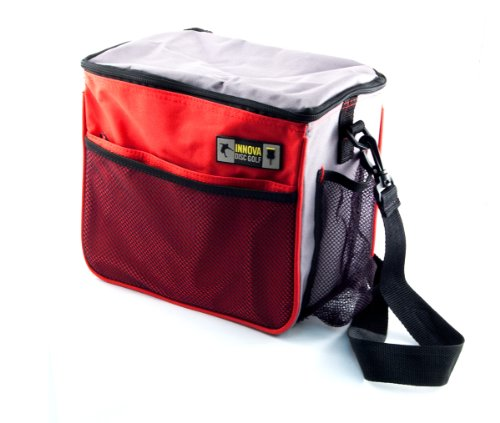 Innova Champion Discs Starter Golf Bag, Red/Gray
