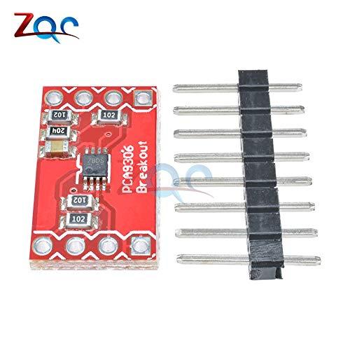 PCA9306 I2C 3.5ohm Dual Bidirectional Voltage Level Translator Breakout Board Electric Level Shifter para SDA SCL Lines Module
