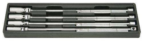 KS Tools 517.1130 T-Griff Zündkerzenschlüssel-Satz, 4-tlg., 14-21mm