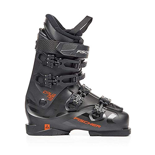 Fischer Unisex– Erwachsene Skischuhe Cruzar X 9.0 Thermoshape Flex 90 Skistiefel 2019, Farbe:schwarz, Größe:MP26.5, schwarz/rot, 26.5