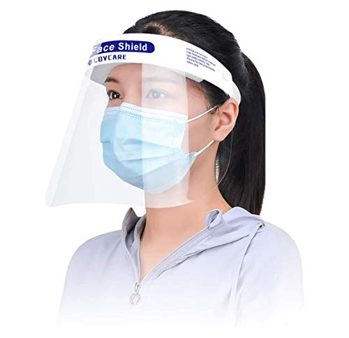 COV フェイスガード フェイスシールド Face SHield 保護シールド 顔面保護 10枚