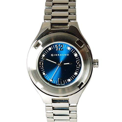 GIORDANO 2048-3 Damen silberfarbene Armbanduhr