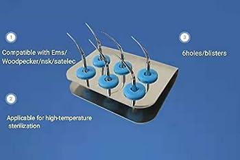 3 Pcs Dental Ultrasonic Scaler Tips Holder Fit EMS/Woodpecker/nsk/satelec