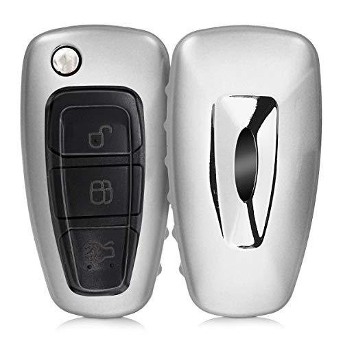 kwmobile Funda para Llave Plegable de 3 Botones para Coche Ford -...