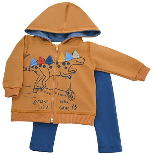 Karen babykleding trainingspak jongens meisjes unisex kleding kledingset 2-delig: capuchon en broek joggingpak