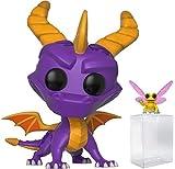 Funko Pop! Games: Spyro The Dragon - Spyro and Sparx Vinyl Figure (Bundled with Pop Box Protector Case)
