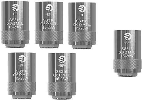 1 STÜCK GRATIS (5+1) joyetech 0.6 ohm (6 pcs) Joyetech CUBIS BFSS316 Ersatz Coil 0.6 Ohm