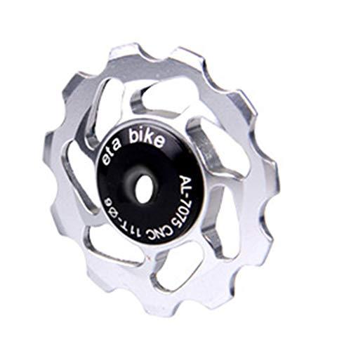 YU-NIYUT Bicycle Rear Derailleur Pulley Bike Jockey Wheel Pulley Ceramic Guide Roller Bike Derailleur Accessories for Mountain Bike Road Bike
