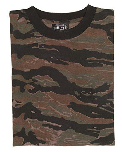 Mil-Tec US Army T-Shirt Camouflage léger (Tigerstripe/M)