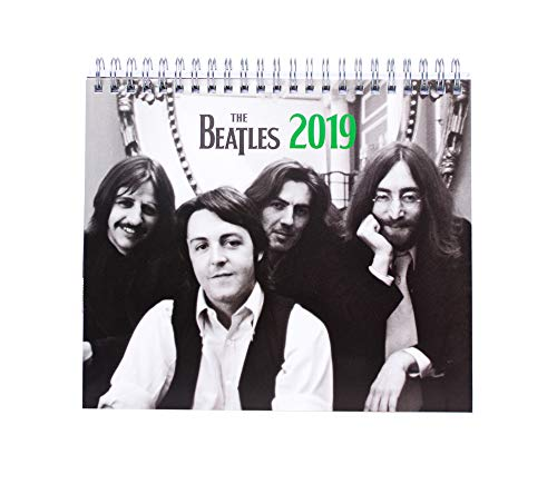 Grupo Erik Editores CS19012 Tafelkalender 2019 The Beatles, 17 x 20 cm