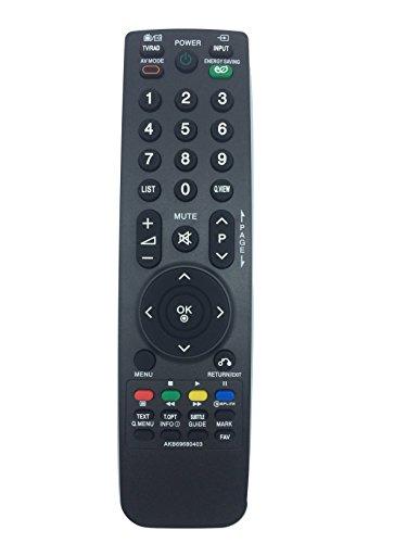 Mudder Mando a distancia de repuesto para televisión LCD LG AKB69680403