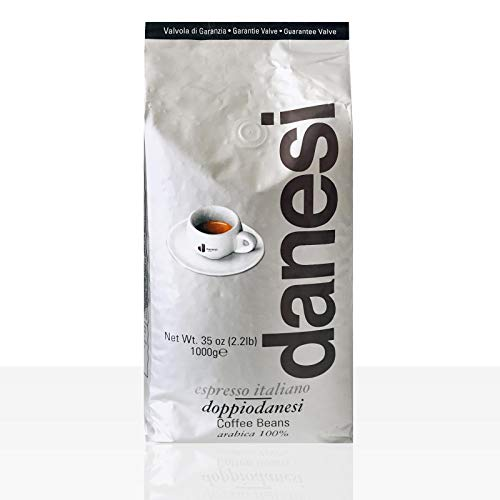 Danesi Caffe Doppio Espresso 12 x 1kg ganze Bohne, 100% Arabica