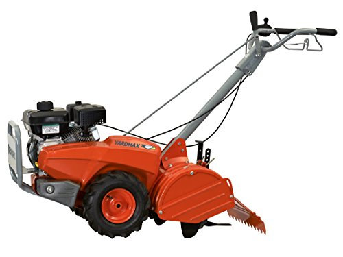 New YARDMAX Tiller - Compact Front Tine 79cc and Dual Rotating Rear Tine 208cc