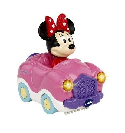 OTTO Tut tut bolides - Le Cabriolet Magique de Minnie - Voiture Interactive Rose Disney Bebe Fille - vtech