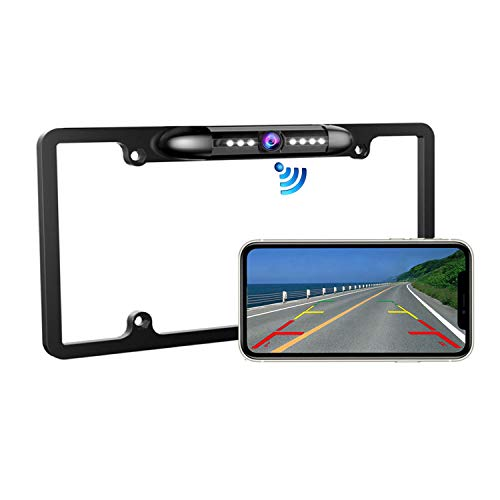 Casoda WiFi Wireless License Plate Backup Camera for iPhone and
