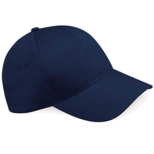 Beechfield Casquette unisexe réglable Bleu marine Bleu marine taille unique
