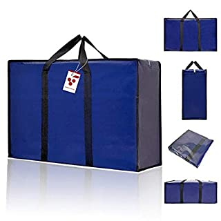 BERRI BASICS Large Oxford Moving bags,Laundry Storage, Shopping Bag with Double Zipper REUSABLE (B00B7IOACS) | Amazon price tracker / tracking, Amazon price history charts, Amazon price watches, Amazon price drop alerts