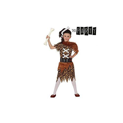 5. Costume per Bambini Th3 Party Bambina cavernicola