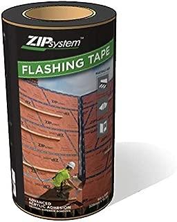 Huber ZIP System Flashing Tape   Self-Adhesive Flashing for Structural Panels, Doors-Windows Rough Openings   9 inch x 50 feet