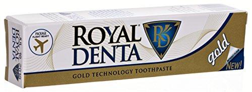 Royal Denta Gold, Zahncreme 30gr, Fluoridfrei