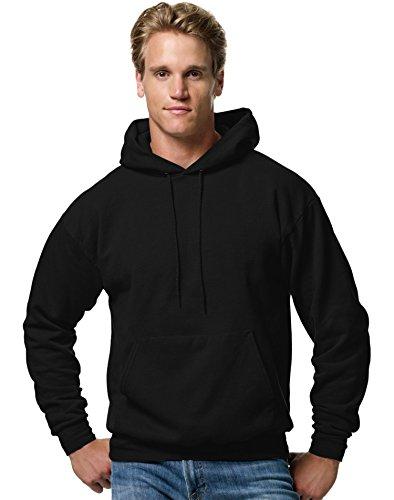 Hanes Big & Tall ComfortBlend EcoSmart Pullover Hoodie Sweatshirt Black 5XL