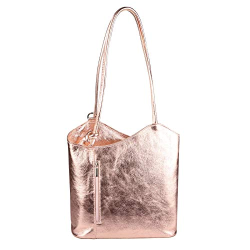 OBC Only-Beautiful-Couture Borsa Messenger Rosa Rosa (Metallic) 27x29x8 cm (BxHxT)