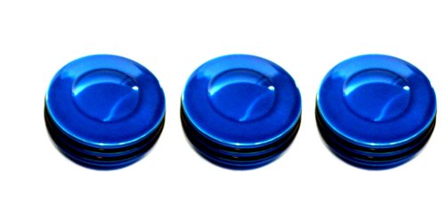 All Sales 4400RB O-Ring Heater/AC Knob, (Pack of 3)