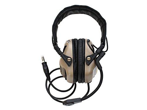 Earmor Universal Bügel Headset M32 mit NRR 22 Schallschutz, voll verstellbar - TAN [M32-TN]