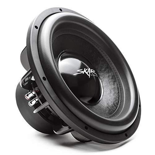 "Skar Audio EVL-15 D4 15"" 2500 Watt Max Power Dual 4 Ohm Car Subwoofer"