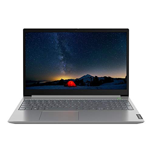 Lenovo ThinkBook 15-IIL 15.6' Full HD Laptop Intel Core i7-1065G7, 16GB RAM, 512GB SSD, Backlit Keyboard, FP, Windows 10 Pro, Grey - 20SM000GUK