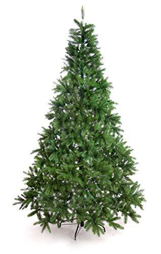 Miglior albero di Natale, 210 cm, pino artificiale da interno, sembra vero, in polietilene 1580