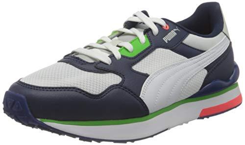 PUMA Unisex R78 Futr Sneaker, Blau - Peacoat Puma Weiß Puma Weiß - Größe: 46 EU