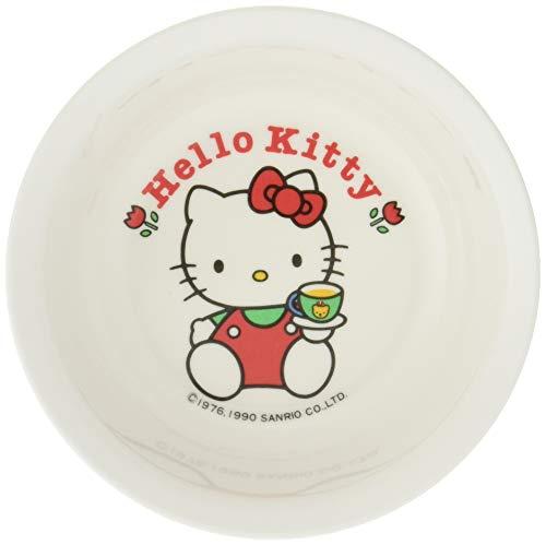 Daiwa お子様食器 ニューハロー・キティフルーツ皿 (白) メラミン樹脂 日本 RHL19