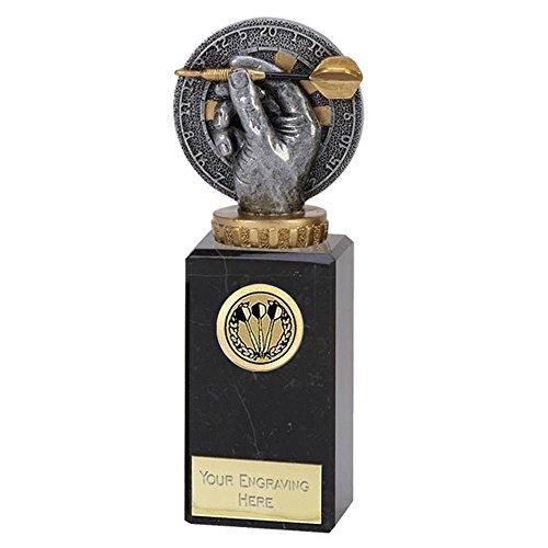 6,7/20,3cm Flexx Darts Trophy Award mit gratis Gravur bis zu 30Buchstaben